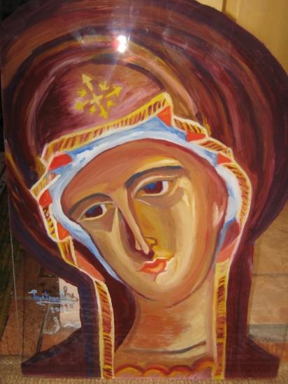 Virgin Mary by laura-grigorita